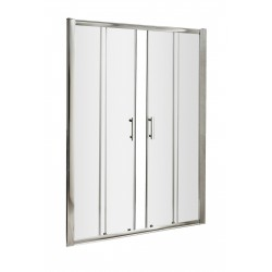 Pacific Double Sliding Shower Door 1600mm
