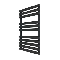 Queen Black Designer Towel Rail - 500 x 930mm