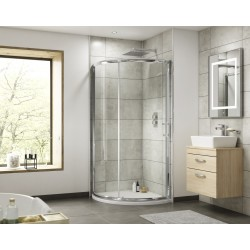 Pacific Sliding Shower Door 1000mm