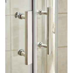 Pacific Sliding Shower Door 1100mm - Insitu