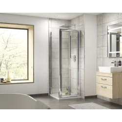 Pacific 1200mm Bi-Fold Shower Door