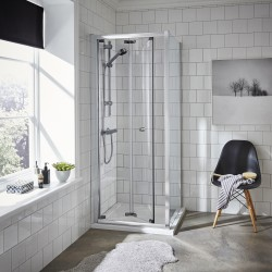 Ella 800mm Bi-Fold Shower Door