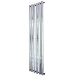Queen Chrome Designer Radiator - 420 x 1800mm