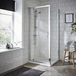 Ella 900mm Pivot Shower Door