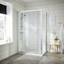 Ella 1200mm Sliding Shower Door