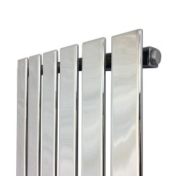 King Chrome Designer Radiator - 440 x 1850mm