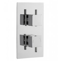 Minimalist Concealed Shower Valve with 2-Way Diverter Dual Handle