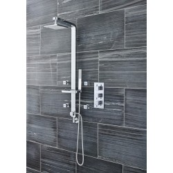 Volt Concealed Shower Valve Triple Handle with Diverter