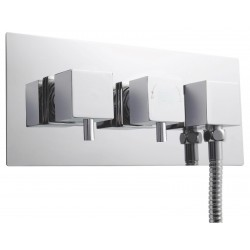 Volt Concealed Shower Valve With Diverter Dual Handle