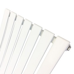 King White Designer Radiator - 516 x 1250mm - Closeup