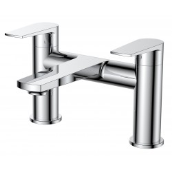 Bailey Bath Filler Tap Deck Mounted Dual Handle