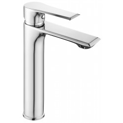 Limit Tall Basin Mixer Tap with Push Button Waste Single Handle