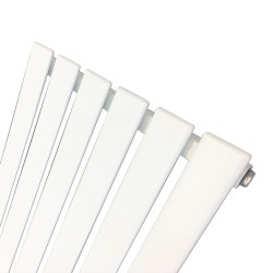 King White Designer Radiator - 440 x 1850mm