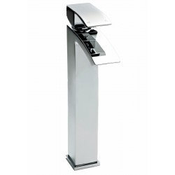 Vibe Tall Mono Basin Mixer Tap Single Handle Chrome