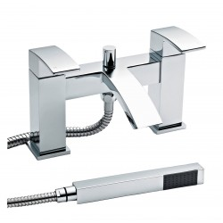 Vibe Bath Shower Mixer Tap Pillar Mounted