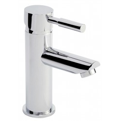 Series 2 Mono Basin Mixer Tap with Push Button Waste Single Handle