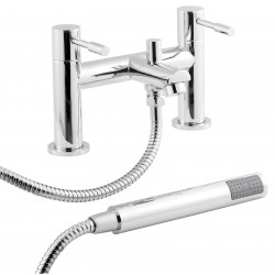 Series 2 Bath Shower Mixer Tap Deck Mounted