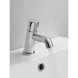 Self Closing Non Concussive Mono Basin Mixer Tap