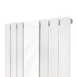 King White Mirror Designer Radiator - 610 x 1800mm