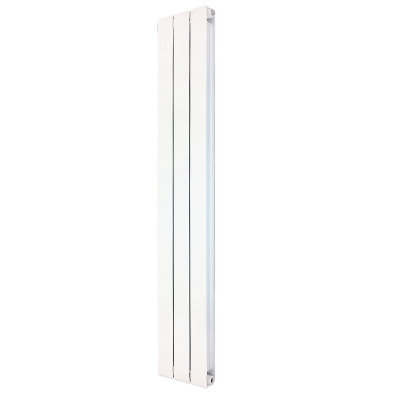 Princess White Aluminium Radiator - 245 x 1800mm