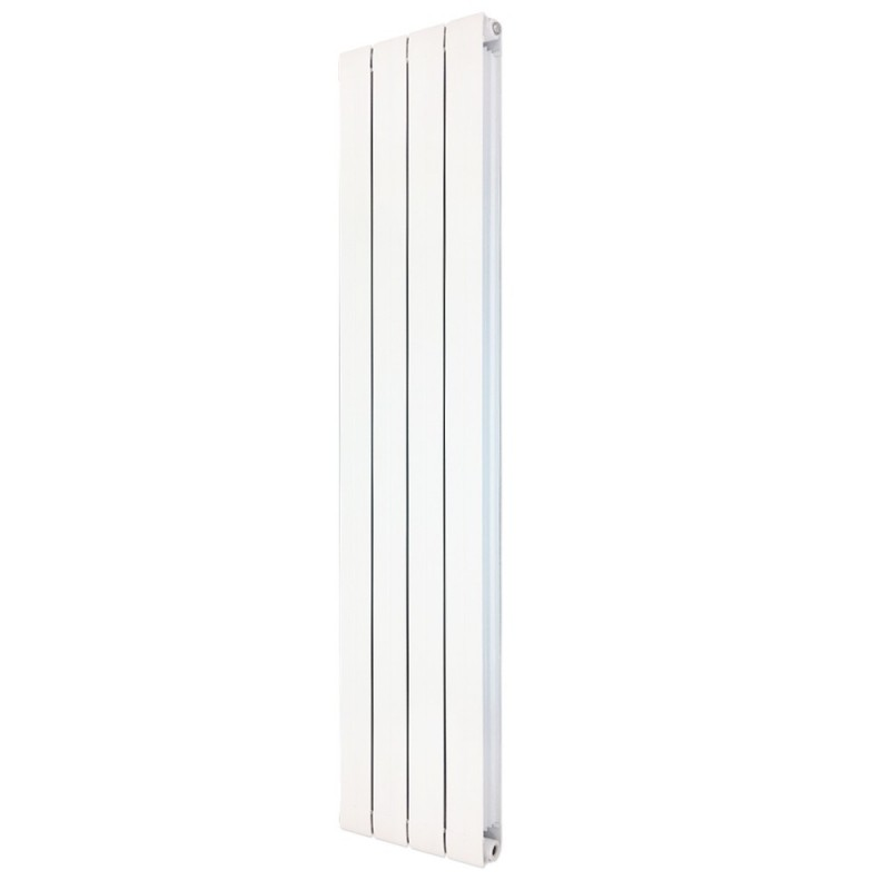 Princess White Aluminium Radiator - 318 x 1800mm