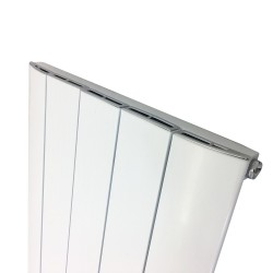 Supreme White Aluminium Radiator - 470 x 1800mm